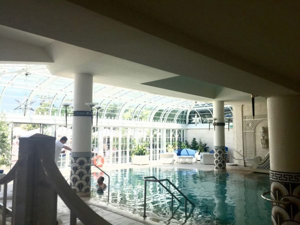 Rome Cavalieri Indoor Pool
