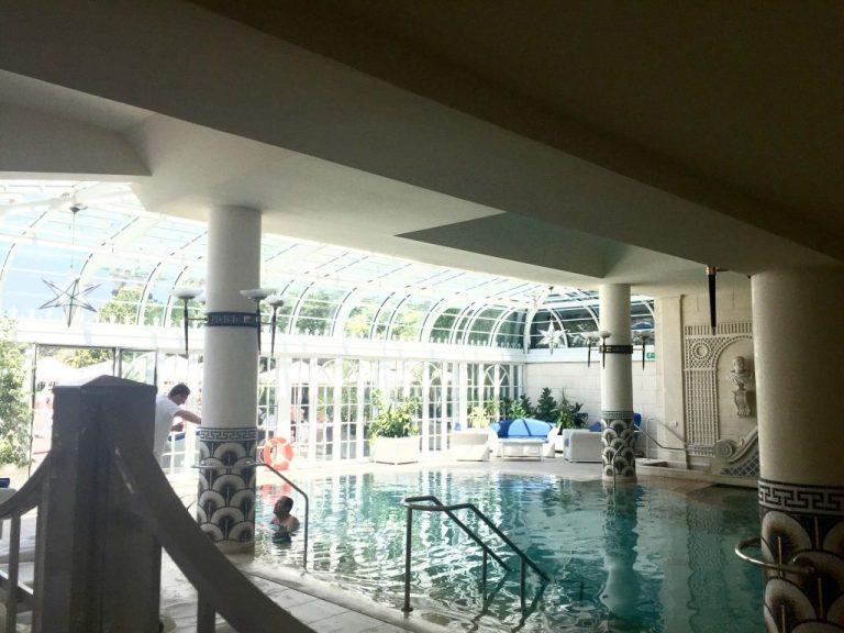 Rome Cavalieri Indoor Pool