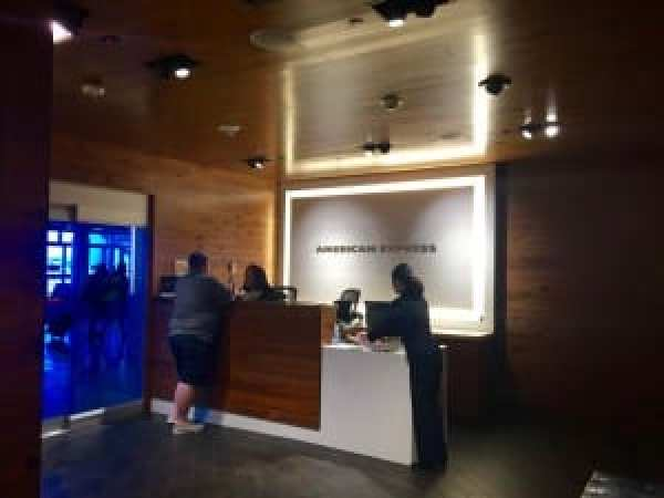 Amex Lounge Seattle
