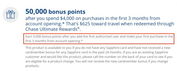 Chase Sapphire Preferred Bonus