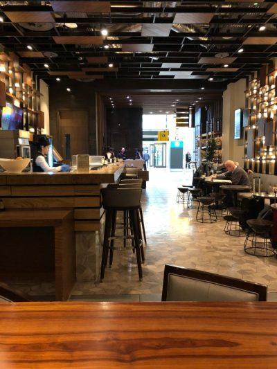 Plaza Premium Arrival Lounge at Heathrow Terminal 2