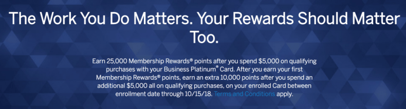 Business Rewards Gold Offer