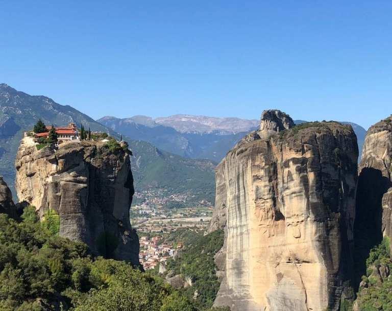 Holy Trinity Monastery in Meteora Greece