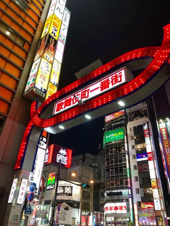 Shinjuku Redlight District