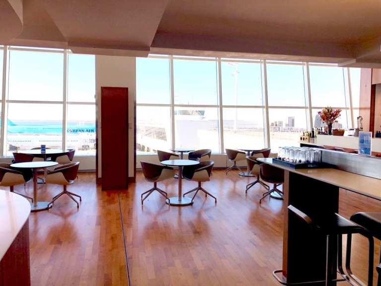 Lufthansa Lounge JFK
