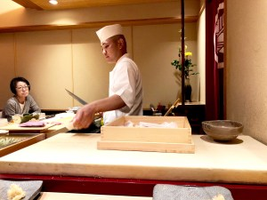 A Sushi Lunch in Ginza