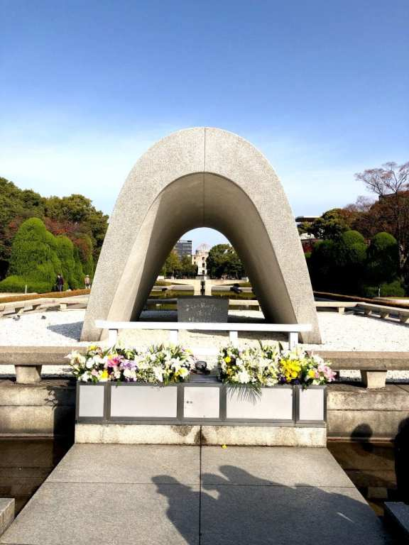 Peace Cenotaph in Hiroshima
