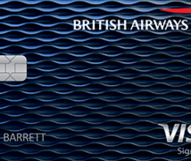 British Airways Visa Signatureregistered Trademark Card