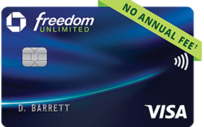Establishing a positive payment history on a new credit card account is one of the best ways to start improving. Chase Freedom Unlimited Credit Card Chase Com