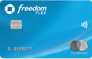 Chase Freedom Flex has a first-year bonus of 5% cash back on groceries.