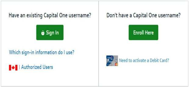 Online Capital One Card Activation