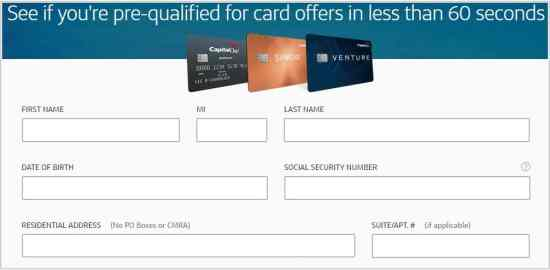 How To Rapidly Prequalify For A Capital One Credit Card