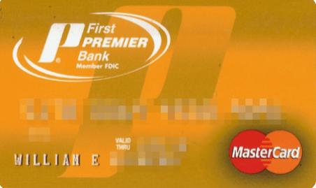 Image result for First Premier Credit Card Login