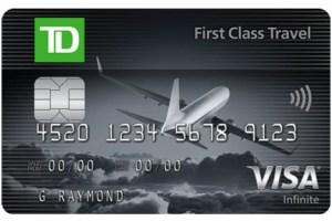 TD First Class Visa Infinite Review