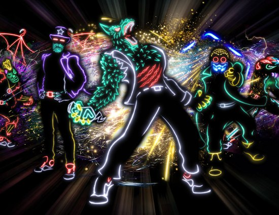 Things to do at Calgary Stampede - Light Balance Show