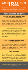 American Express Platinum Review Infographic