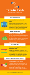TD Index Funds Infographic