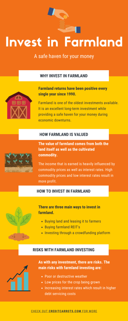 Invest in Farmland Infographic