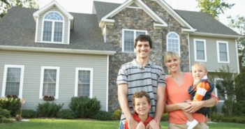 Right Mortgage: Big house, happy family