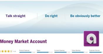 Money Market Account from Ally Bank