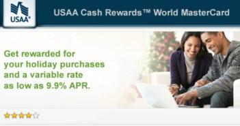 USAA Cash MasterCard