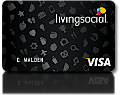 Get deals with Living Social Visa.