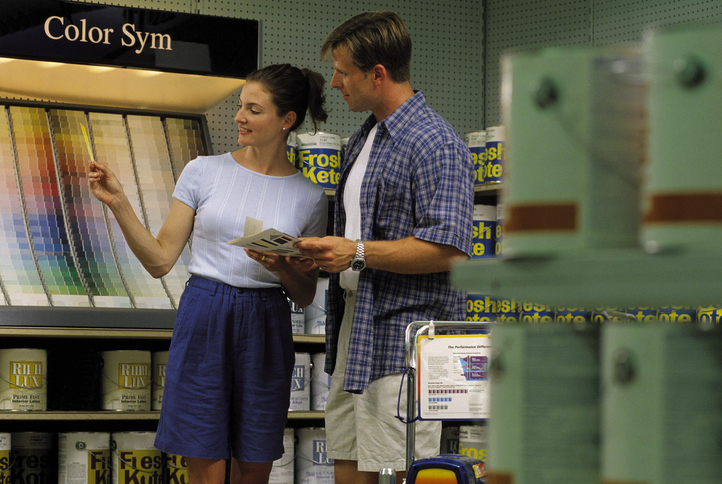 Lowe's credit card offers helps customers finance their DIY remodeling projects.