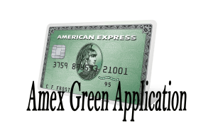American Express Green Card Application