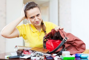 What do you do if you lose your credit card?