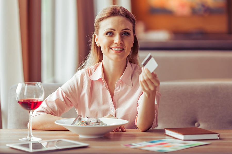 With the Trio Credit Card earn 3%, 2%, or 1% cash back on all purchases.