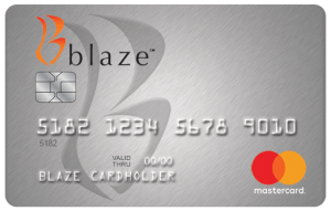 Blaze MasterCard Apply for the Blaze credit card.