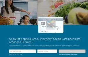 myamexeveryday.com credit card offer