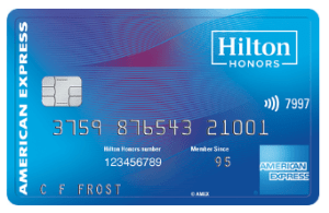 Hilton Honors Card