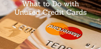 What to do with unused credit cards
