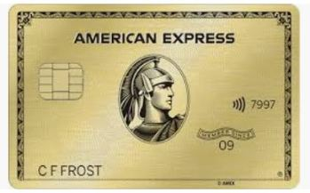 Picture of The American Express Gold Metal Card