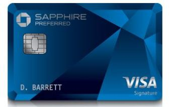 Picture Of The Chase Sapphire Preferred Metal Card