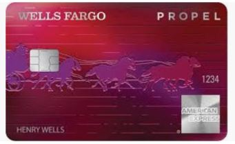 Picture of The Wells Fargo Propel Metal Card