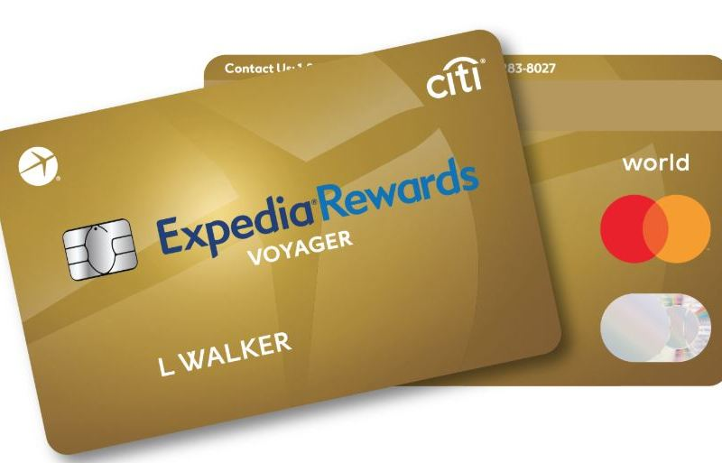 Expedia Rewards Voyager Card – Now With 50,000 Sign Up Bonus