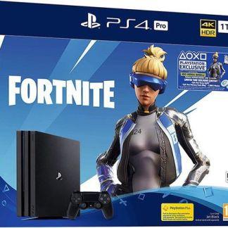 Consola Sony PlayStation 4 Pro 1TB + Joc Fortnite Neo Versa Bundle (Negru)