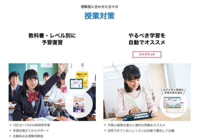 進研ゼミ中学講座