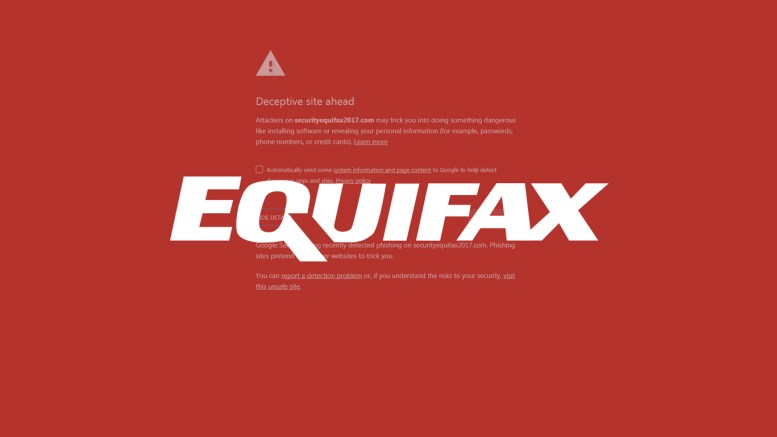 Equifax Not Learning From Mistakes