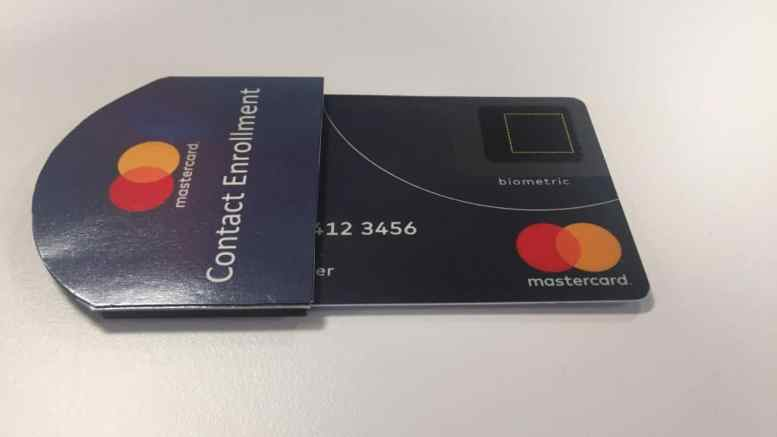 Mastercard to Launch Fingerprint Cards