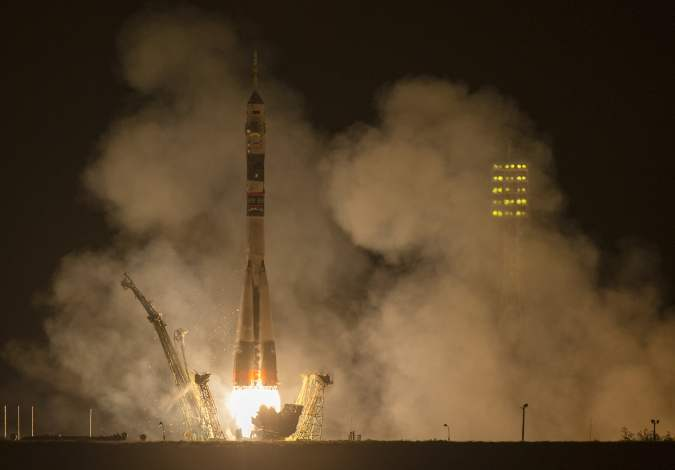 Expedition 41 Launch - Soyuz