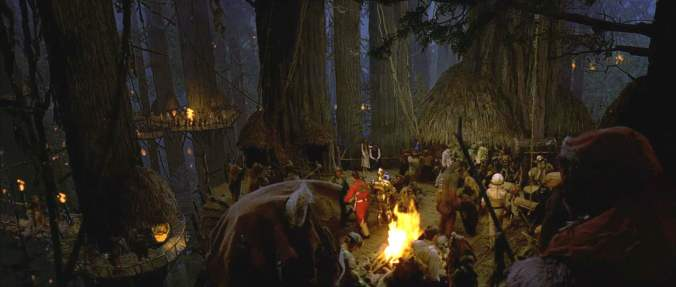Endor Ewok Celebration - Star Wars Return of the Jedi