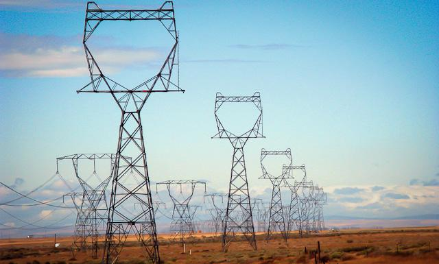 High Power Electric Transmission Lines