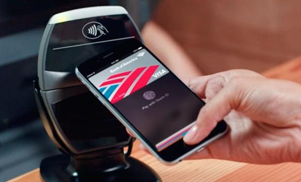 Phone Using Apple Pay