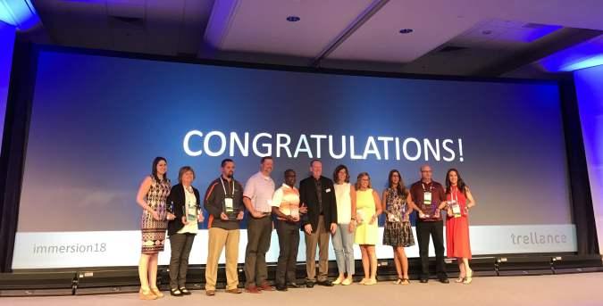 immersion18 Award Winners