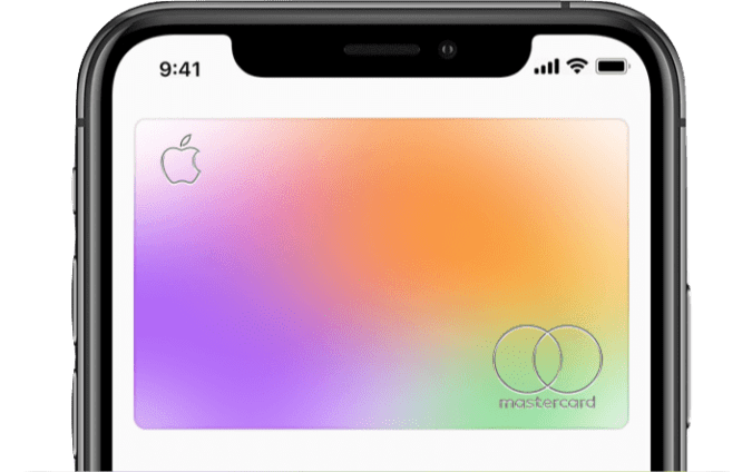 Apple Card on iPhone