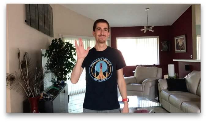 Joe Winn Vulcan Salute