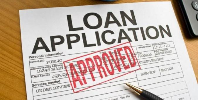 Loan Application with Approved Stamp
